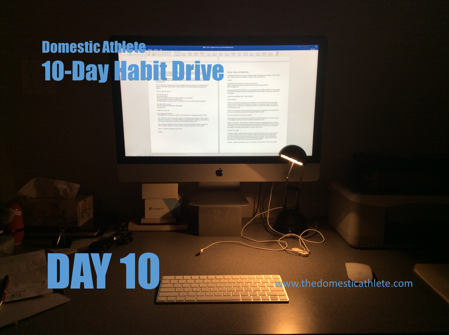 10-Day Habit Drive, Day 10 – Intuitive Journalling